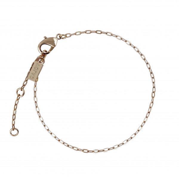 Fußkettchen Chain-Cajoy, vergoldet
