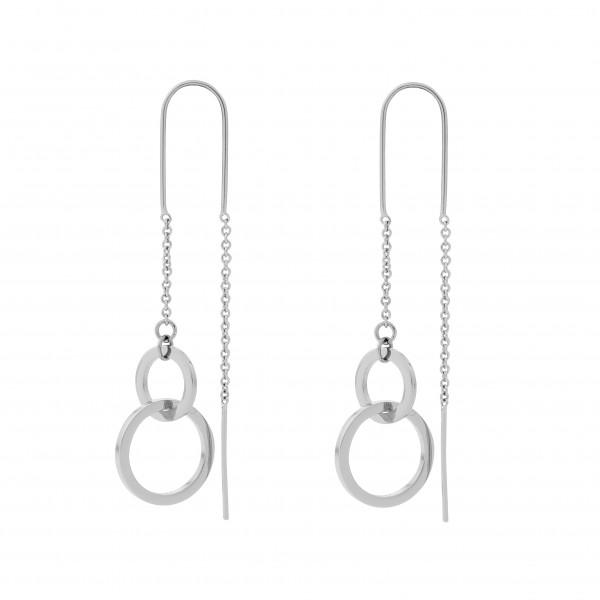 Ohrring 2 Ringe zum Einhängen