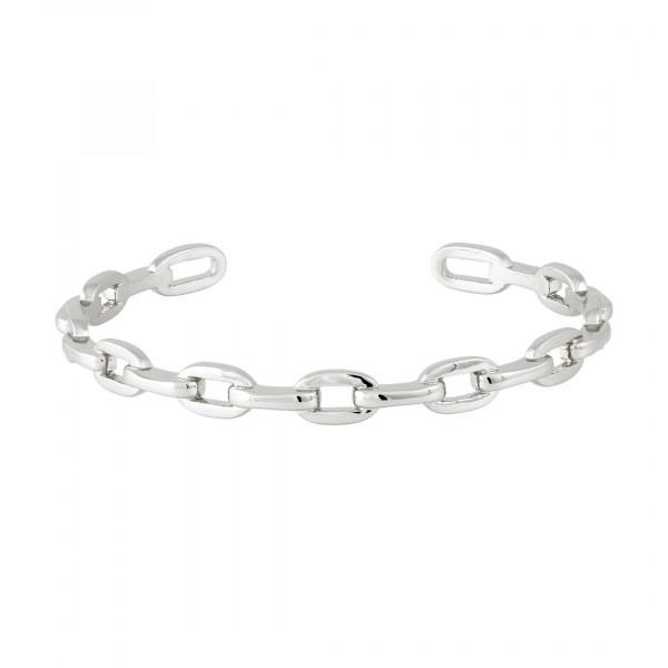 Armreifen Chain, rhodiniert