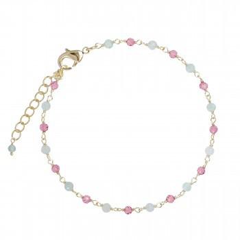 Armkettchen mit Aventurin/Pink