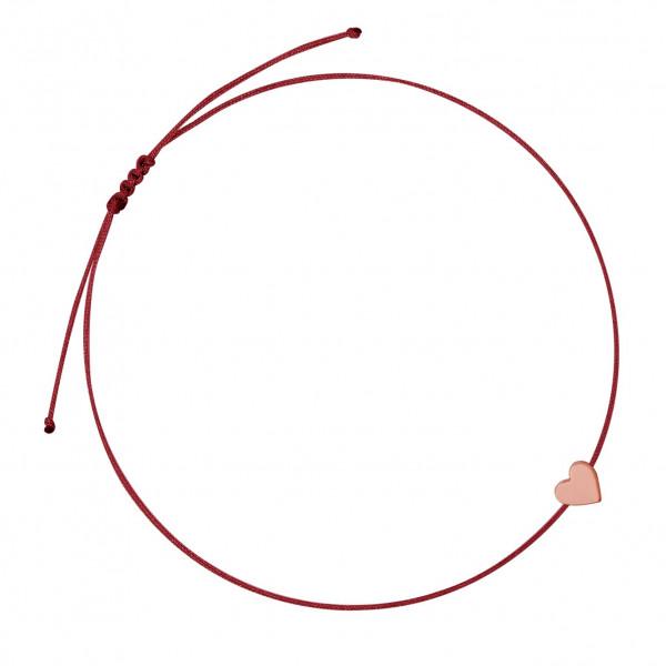 Herzarmband Rot