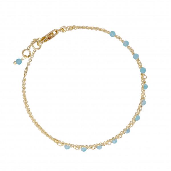Armband Aqua Calci, vergoldet