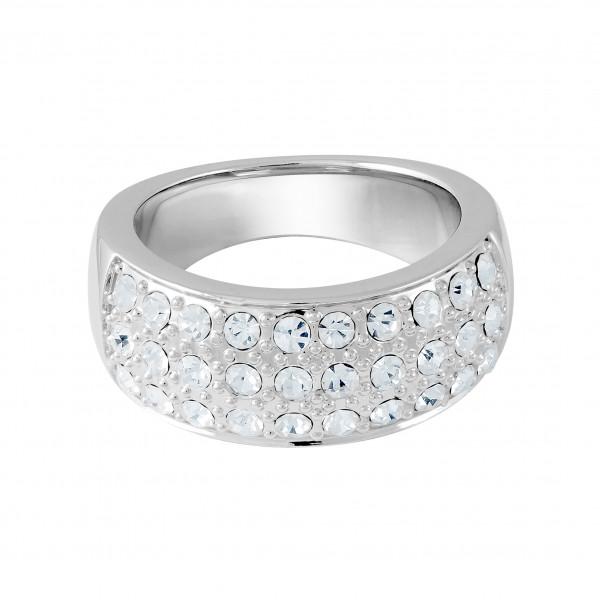 Ring mit 3 Kristallreihen
