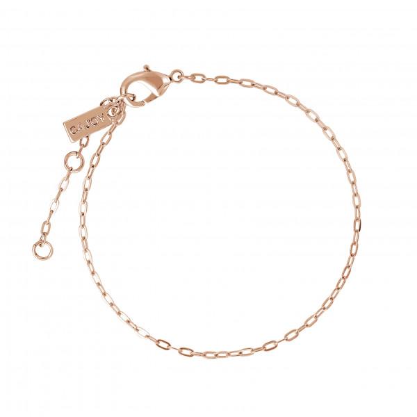 Armband Chain-Cajoy, rosé vergoldet