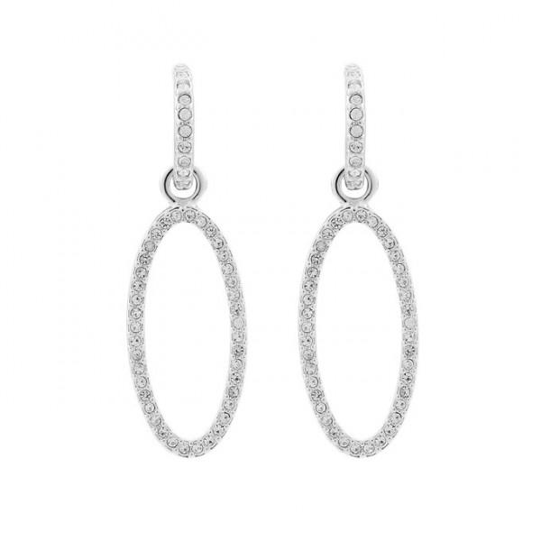 Elegante Ohrringe mit Kristallen