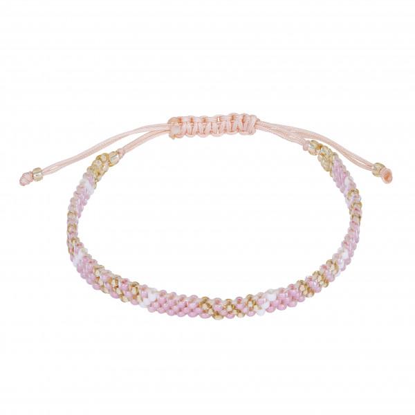 Armband handgeknüpft rosa