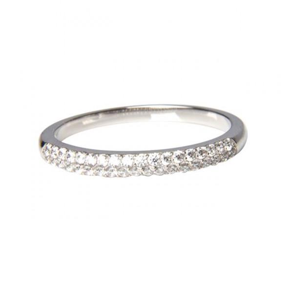 Ring Doppelreihe Kristalle
