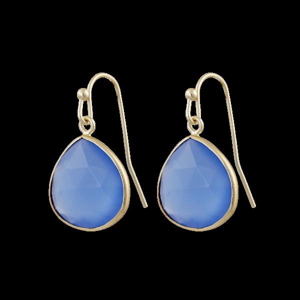 Ohrhänger Blau