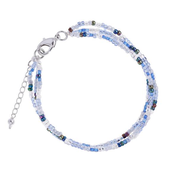 Boho Armband Blue/Silver