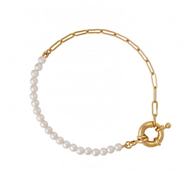 Armband Fusion Perle & Gliederkette