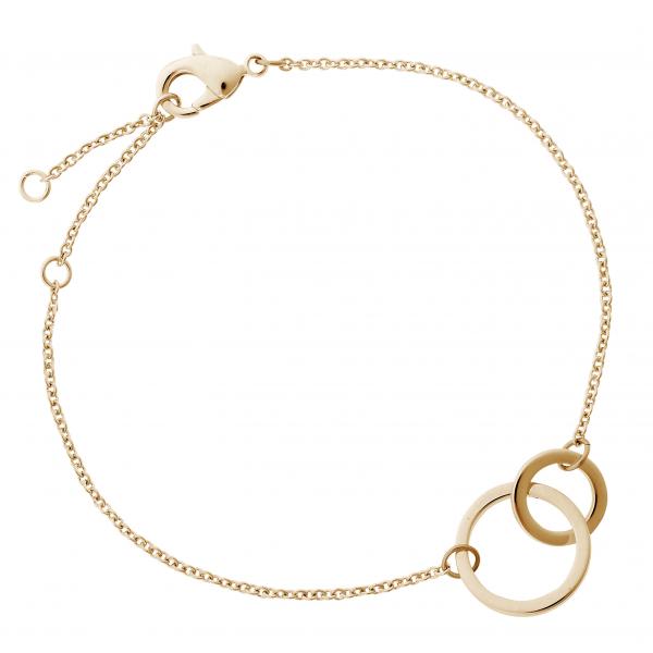 Armkette mit 2 Ringen G